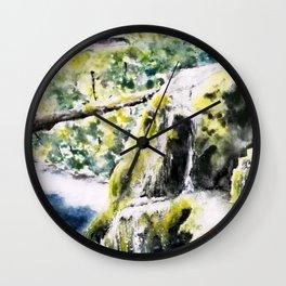Bigar Waterfall, Romania Wall Clock