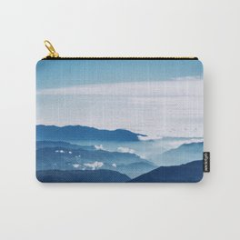 Blue On The Mountains Carry-All Pouch