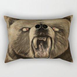 Brown trout Rectangular Pillow