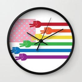 Happy Pride Wall Clock