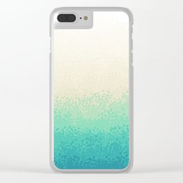 Sandy Beach Clear iPhone Case
