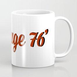vin rouge 76` Coffee Mug