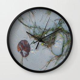 Natural Art Wall Clock