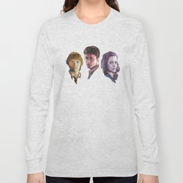 Ron, Harry & Hermione Long Sleeve T-shirt