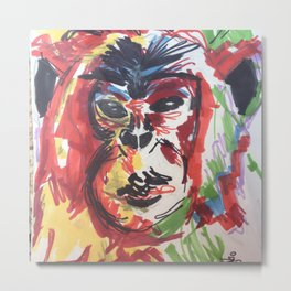 monkey thougths Metal Print