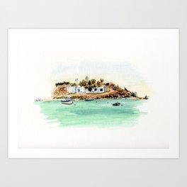 Naxos Art Print