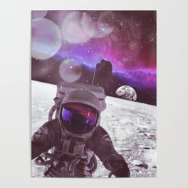 PURPLE SKIES Poster