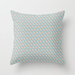 Practically Perfect - Penis in Blue Throw Pillow