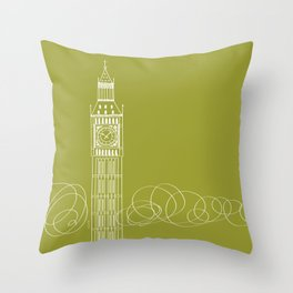 London by Friztin Throw Pillow