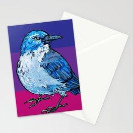 L'il Lard Butt Graphic Scrub Jay Stationery Cards