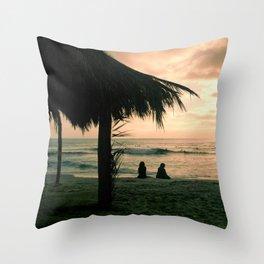 Windansea at Sunset Throw Pillow