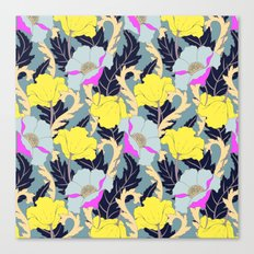 June Yellow Canvas Print