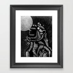 WHITEOUT - Blanc dehors! Framed Art Print
