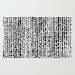 Ink Weaves: Grey Opal Rug