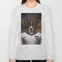 Worldcup 2014 : America - American Stafford Terrier Long Sleeve T-shirt