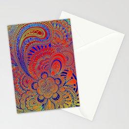 Be'er blue Stationery Cards