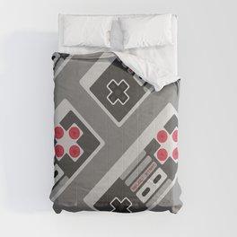 Retro Video Game Pattern Comforters