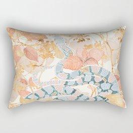 Coral Spring Garden Rectangular Pillow