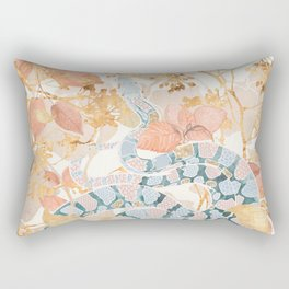 Coral Spring Garden Rectangular Pillow
