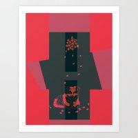Nocturnal.Valentine.III Art Print