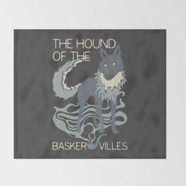 Books Collection: Sherlock Holmes Throw Blanket