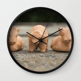 Horse Sheep Cow Wall Clock