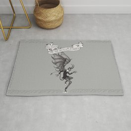 Idle Hands Are The Devil's Playthings Rug