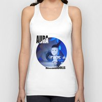artrave Tank Tops featuring AURA ARTRAVE by Sergiomonster