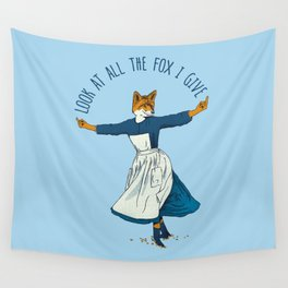 Look At All The Fox I Give - I Wall Tapestry