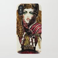 lobster iPhone & iPod Cases featuring Lobster by Felicia Cirstea