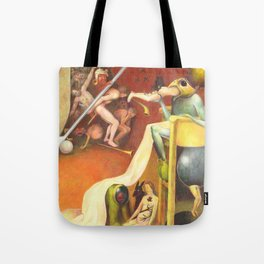 Golf Course In Hell Tote Bag