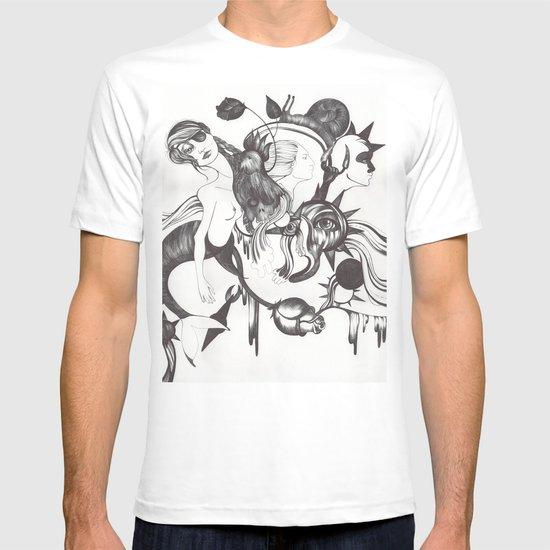 Retrato de Sirena T-shirt