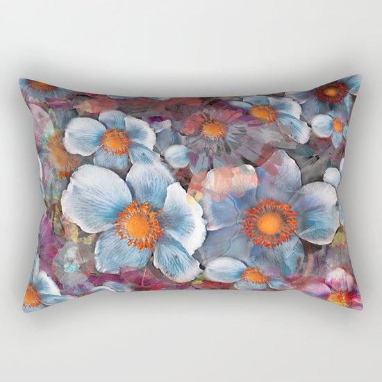 Flower carpet(53). Rectangular Pillow