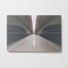 PONT ADOLPHE BIKE BRIDGE I Metal Print