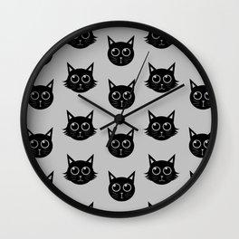 Panda & Yuki Wall Clock