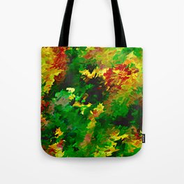 Emerald Forms Abstract Tote Bag