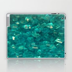 Blue Sugar Crystals Laptop & iPad Skin
