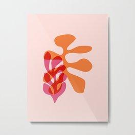 Sea tangle - sunset Metal Print