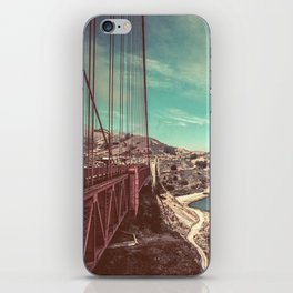 San Francisco Bay from Golden Gate Bridge iPhone Skin
