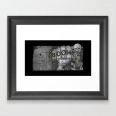 Tomb of Boom Framed Art Print