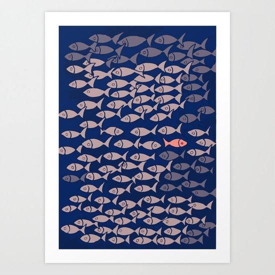 something fishy II Art Print