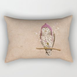 Happy Owl Rectangular Pillow