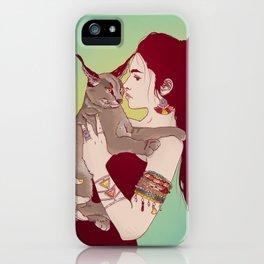 Wildcat Lady iPhone Case
