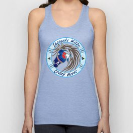 Crazy Horse Dreaming Unisex Tank Top
