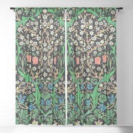 William Morris Jacobean Sheer Curtain