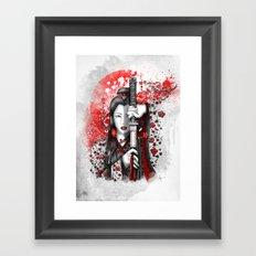 Katsumi - victorious beauty Framed Art Print