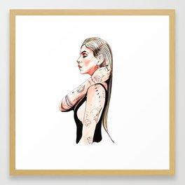 La emperatriz Framed Art Print