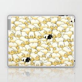 Find The Spy Pattern Laptop & iPad Skin
