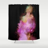 lavender Shower Curtains featuring Lavender by Dnzsea