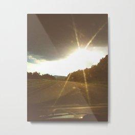 Highways and Hope Metal Print